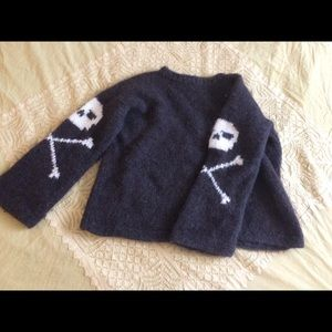 Sweaters - Wool Skull Sweater